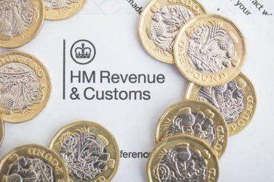 UK Inland Revenue Tax Form